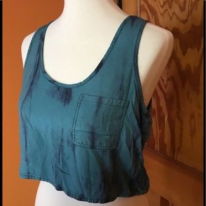 Urban outfitters ecote boho tye dye crop tank top